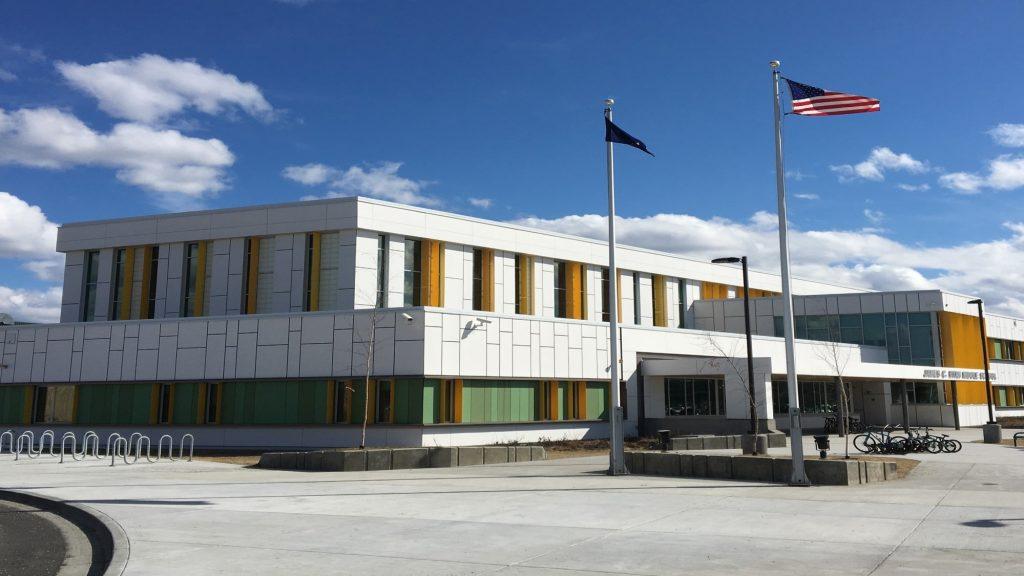 Equitone - James C Ryan Middle School, Fairbanks, AK
