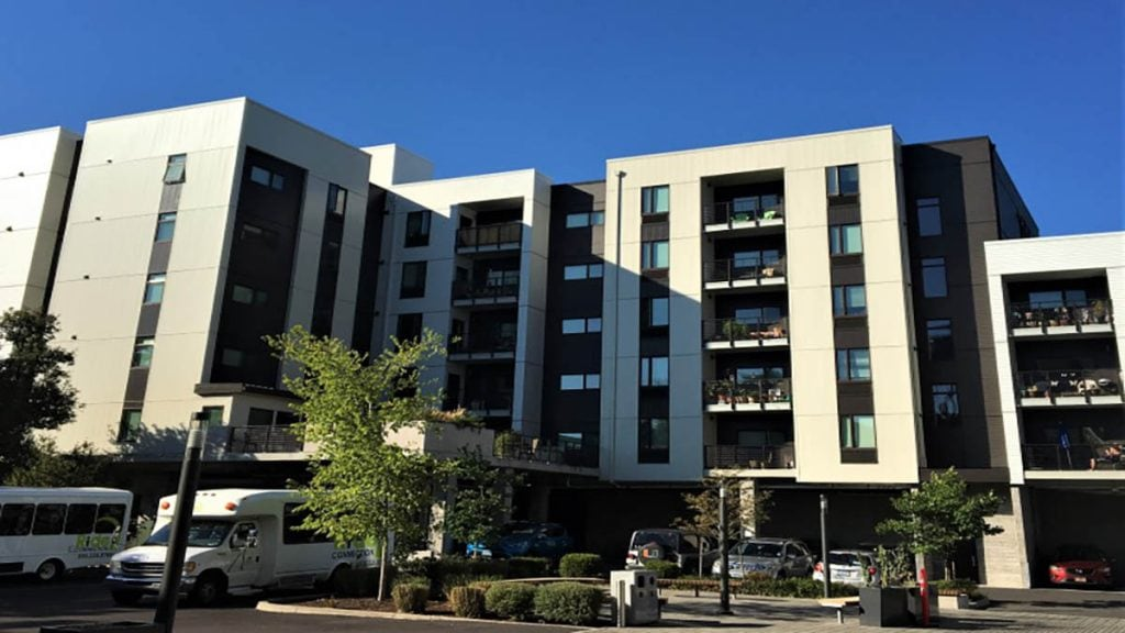 PAC CLAD + Flush Panel - Glisan Apartments, Portland, OR